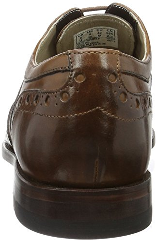 Clarks Twinley Limit, Brogues Homme Marron (Tan Leather)