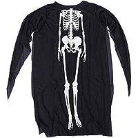 BESTOYARD Los niños de Halloween Ropa de Miedo Traje de Esqueleto Cosplay Trajes de Fiesta para niños