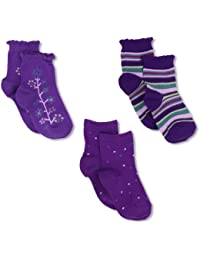 Country Kids Baby Girls' Pick A Mix 3 Pair Socks
