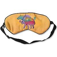Multicolor Animals Digital Art Sleep Eyes Masks - Comfortable Sleeping Mask Eye Cover For Travelling Night Noon... preisvergleich bei billige-tabletten.eu