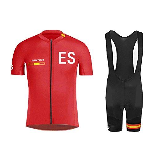 72c311efd4 Uglyfrog ESHNE04 Bike Wear Ciclismo MTB Hombres Maillots Sports+Bib Tight  Sets Seco y Transpirable
