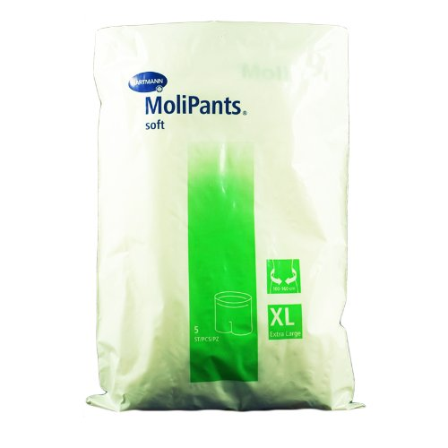 MoliPants Soft Gr. XL 5er, Netz- und Fixierhosen