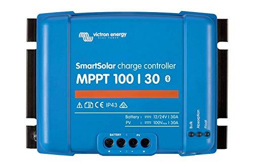 Victron Energy Set BlueSolar   Solarladeregler   Solar-Regler   MPPT 100/30 inklusive VE.Direct Bluetooth Smart dongle