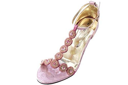 Wear & Walk UK , Bride de cheville femme rose bébé