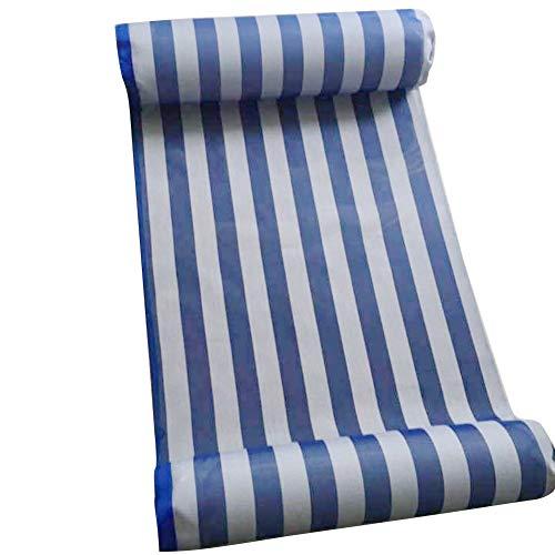 Kreative Luftmatratze Schwimmen Luft Stuhl Wasser HäNgematte Meeresboden Schwimmenden Neuen High-End-Swimmingpool Schwimmbett HäNgematte Freizeitstuhl Blue (Stühle-paket)