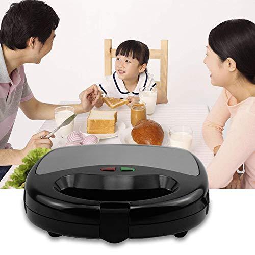 0Miaxudh Sandwich-Toaster, elektrischer Sandwichmaker, Multifunktions-Grill-Toaster-Küche-Frühstücks-Brot-Maschine