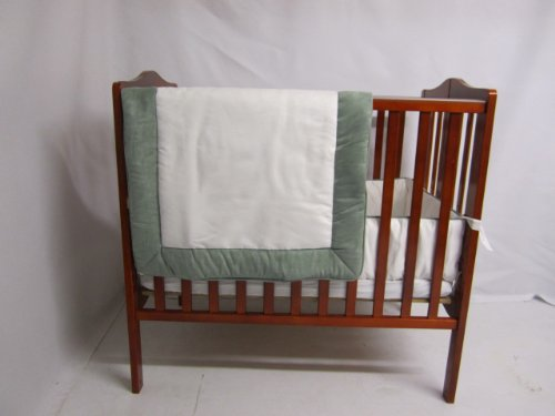 Baby Puppe Betten Zuma port-a-crib Bettwäsche-Set, Seafoam (Seafoam Baby Bettwäsche)
