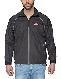 IIMB Polyester and Nylon Full OMG All Weather Bikers Jacket (Black, Medium-40)