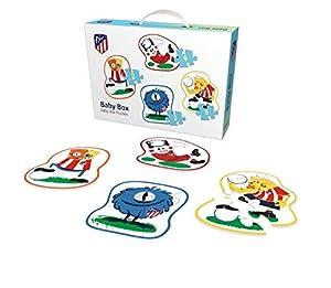 Baby BoxPuzzle del Club Atlético de Madrid - Rompecabezas (para Edades Superiores a 2 años) (Producto Oficial Licenciado)