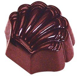 Moule en Silicone Moule à Chocolat Professionnel, en Polycarbonate, Transparent, 27,5 x 13,5 x 2,4 cm, 24 pièces