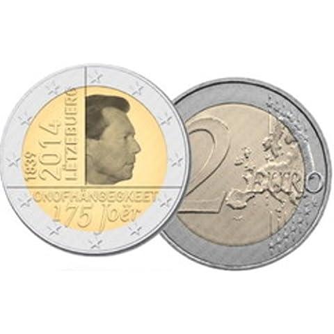 2Euro commemorativa Lussemburgo 2014–175. Anniversario Dell'
