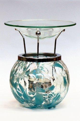 Milford-Collection-Turquoise-Handmade-Glass-Birthstone-Night-Light-Diffuser-Oil-Tart-Burner