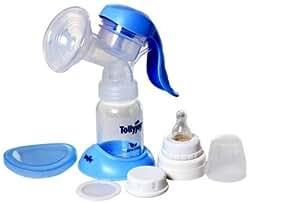 Tollyjoy Manual Breast Pump Set (Blue/White)