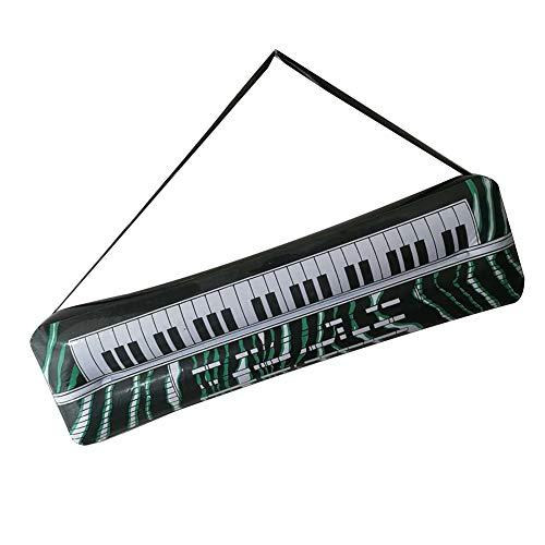 Früh Kostüm Zu - 0Miaxudh Aufblasbare Requisiten, PVC Aufblasbare Gitarre Mikrofon Lute Musikinstrument, Kinder Spielzeug, Party Requisiten Electronic Keyboard