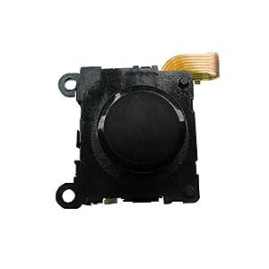 OSTENT Hochwertiger 3D Knopf Analog Joystick Stick Ersatz Kompatibel für Sony PS Vita PSV – Farbe Schwarz