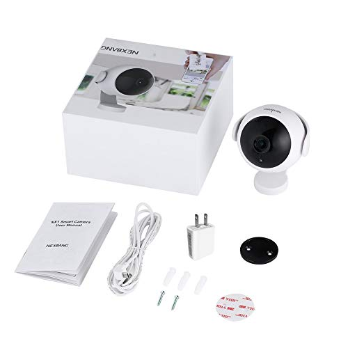 LESHP 720P Wireless Wifi IP Home Surveillance Camera Video Security Camera(White)