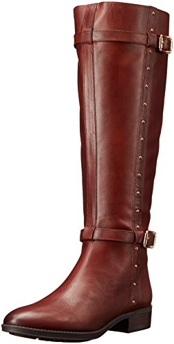 Vince Camuto Preslen Cuir Botte brown