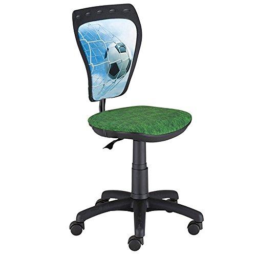 NOWY STYL Jugend Büro Dreh Stuhl Schreibtisch Spiel Zimmer Kinder Fußball WBM06-GZ5B-AA5XH4-000000 - Jugend-schreibtisch Stuhl