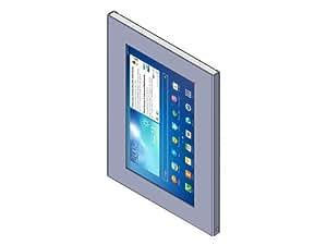 TabLines TSG005 Schutzgehäuse für Samsung Galaxy Tab3 10.1 silber