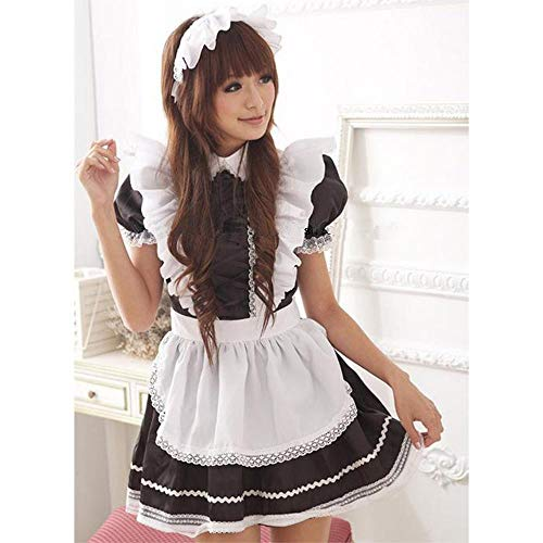WWAVE Japanese Sexy Dessous Maid Kostüm Cosplay Sexy Spiel Uniform Cosplay Maid Kostüm