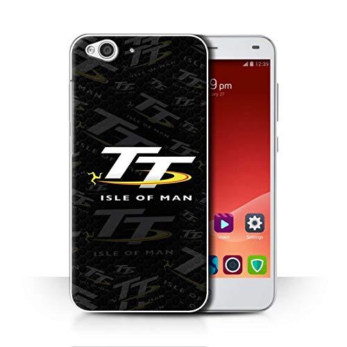 Isle of Man TT Officiel Coque/Etui pour ZTE Blade S6 / TT Signature Design/TT Logo Collection