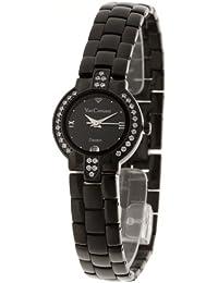Yves Camani Damen-Armbanduhr Diadem Black Analog Quarz 426-L-B-B
