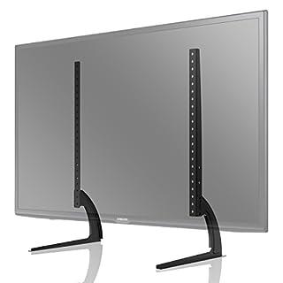 1home TV Support sur Table Hauteur Adjustable pour LCD LET Ecran Plate TV de 32 à 60