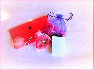 Box à offrir « Bijoux and déco tendance » pour femme/fille ; Porte-bonheur Œil de ste Lucie