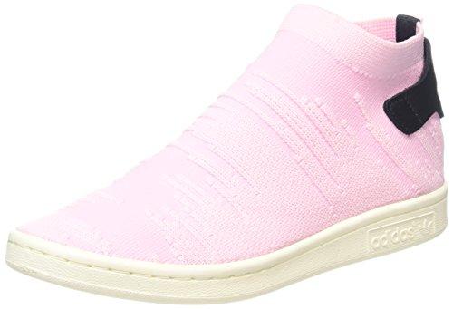 adidas originali donne 'stan smith sock pk w formatori, rosa (blu