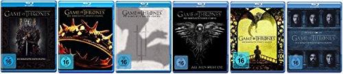 game of thrones 6 staffel Blu-ray Set * Game of Thrones - Season / Staffel 1+2+3+4+5+6