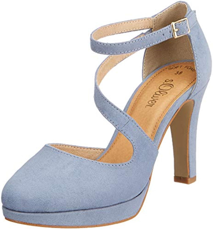 S.Oliver 5-5-24420-32 809 Scarpe con Tacco Donna | Qualità e quantità garantite  | Uomo/Donne Scarpa