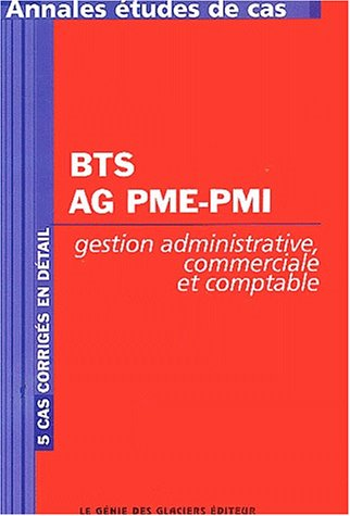 BTS AG PME-PMI Gestion administrative, commerciale et comptable