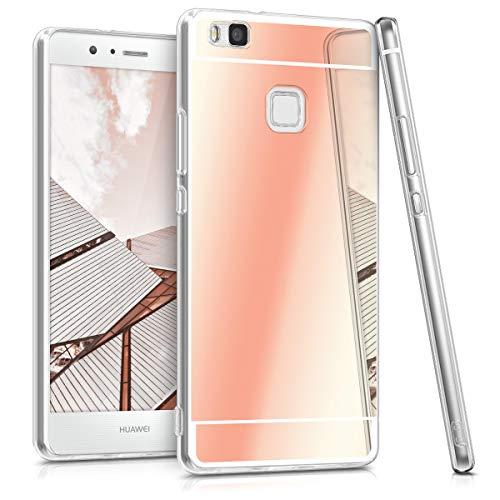 kwmobile Huawei P9 Lite Hülle - Handyhülle für Huawei P9 Lite - Handy Case in Rosegold spiegelnd -