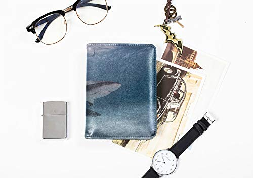 Uns Reisepasshülle Kunststoff Schöne Unterwasserwelt Leben Reisepasshülle Fall Für Frauen Männer Reisegepäck RFID Sperrung Reisepass Brieftasche Reisepasshülle Für Frauen (Brieftasche, Der Inhaber Kreditkarte Kunststoff)