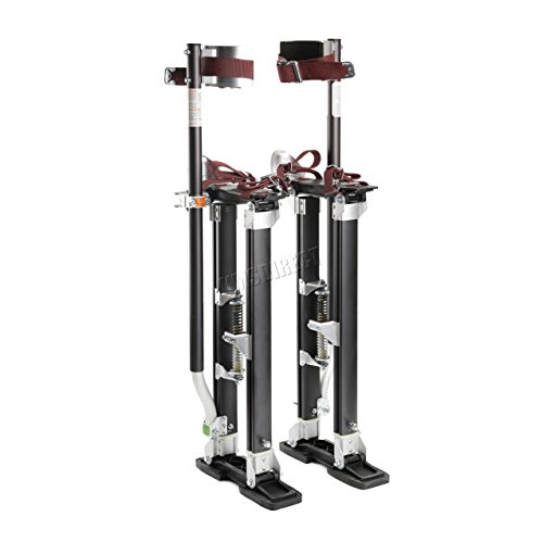 "SwitZer 18"" to 30"" Aluminium Painter Painting Drywall Stilts Builder plastering Test"