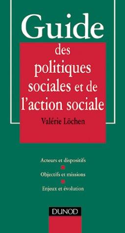 Guide des politiques sociales par  Valérie Lochem (Broché)