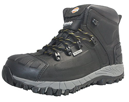 Dickies Mens Workwear Medway Super Safety S3 Boot Black FD23310B Guard Steel Toe Boot
