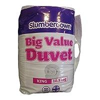 HomeStoreDirect Big Value King Size All Seasons warm Cosy Duvet Quilt 10.5 Tog