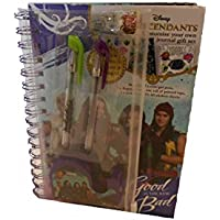 Disney Descendants Customising Journal Set With 2x mini Gel Pens, 1 Roll of Printed Tape and Dispenser, 1 Journal and 3x A5 Sticker Sheets