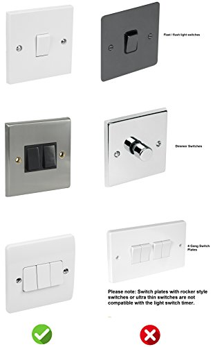Brilliant Light Switch Timer By Mydome Police Approved Retro Fit No Wiring Wiring Cloud Hisonuggs Outletorg