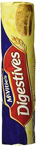 McVitie's Cheesecake Creams Lemon 168g - mit einer Frischkäse-Zitronencreme gefüllte McVitie Digestive Kekse