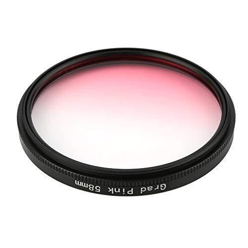 Universal 58mm-Filter Circo-Spiegelobjektiv-Gradienten-UV für DSLR-Kameraobjektiv