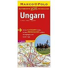 Marco Polo Autokarte plus Reiseguide Ungarn 1:300 000
