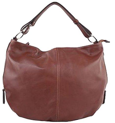 G&G PELLETTERIA , Sac pour femme à porter à l'épaule marron