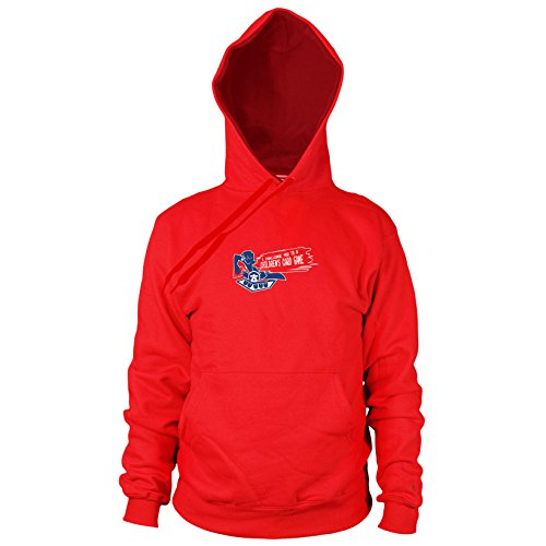 Planet Nerd Card Game Challenge - Herren Hooded Sweater, Größe: XXL, Farbe: rot