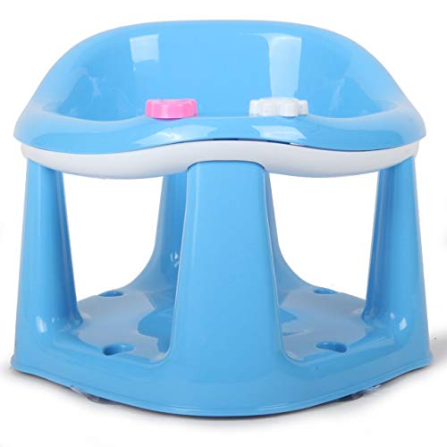 Baby Toddler Child Bath Support Seat Safety Bathing Safe Dinning Play 3 In 1 PINK MWR (SKY BLUE)