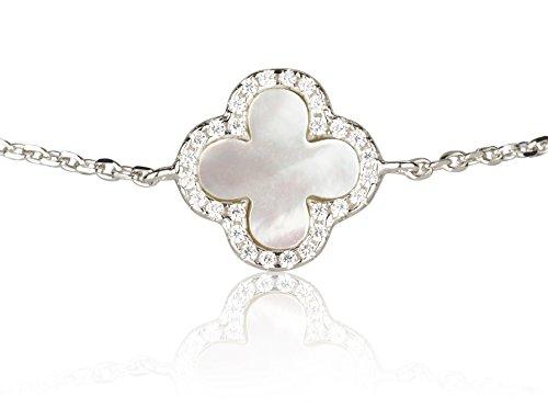 retorica-mere-de-perle-quatre-leaf-clover-bracelet-en-argent-sterling-avec-des-pierres-de-zircone-cu