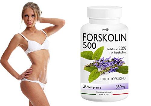 100% puro FORSKOLIN 500 titolata 20% Forskolina (30cpr) VENTRE PIATTO! Nuovo PRINCIPIO ATTIVO.NUOVO ADDOME! Se VUOI perdere peso e riattivare il METABOLISMO, la Forskolina è il prodotto adatto a te.