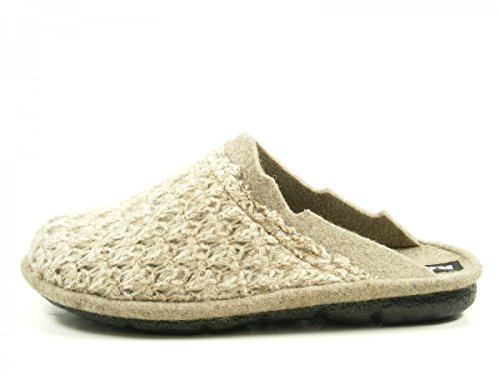 Romika - Mikado 97, Pantofole Donna Beige (beige-kombi (201))