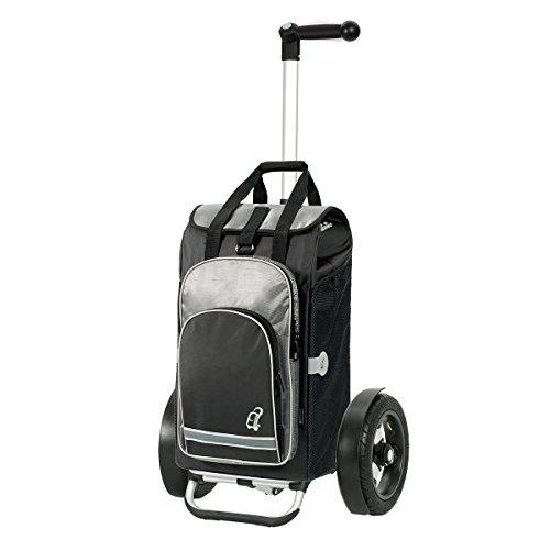 Original Andersen Tura Shopper mit Tasche Hydro schwarz, mit Luftreifen